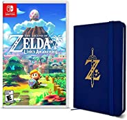 The Legend of Zelda: Link´s Awakening - Edição com Caderneta Z Wild Logo - Nintendo Switch