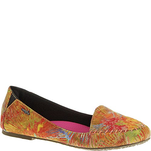 Lamu US M Cushe Orange Multi mujer's Flats 6 B Cf65Tw