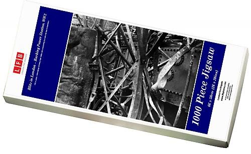 Media Storehouse 1000 Piece Puzzle of Blitz in London -- Barking Power Station, WW2 (8887751)