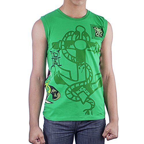 Ed Hardy Kids Sleeveless Boys T-Shirt - Green - X-Large