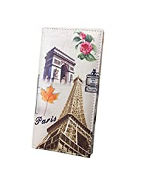HOT SELL!!! Bessky® Creative Europe and America Style Wallet Fashion Graffiti Wallet Women Purse Phone Package (I)