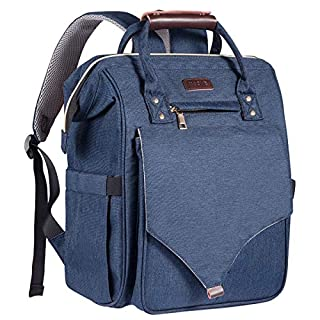 Diaper Bag Backpack, Multifunction Travel Back Pack, Kaome Unisex Large Capacity Diaper Backpack, Waterproof Maternity Baby Bags with Changing Nursing Pad and Baby Bottle Bag
