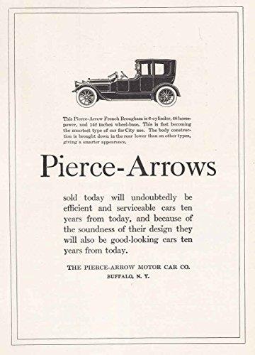 1918 Pierce-Arrows French Brougham: Buffalo, Pierce-Arrow Motor Car Print Ad (Pierce Arrow Buffalo)