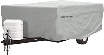 fits 12-14 Long Trailers Expedition Pop Up Camper Covers by Eevelle 180 L x 85 W x 42 H