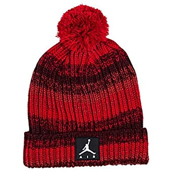 1d3eb3b2cbc Image Unavailable. Image not available for. Color  NIKE Youth Kids  Jordan  Ombre Beanie Ski Cap Hat