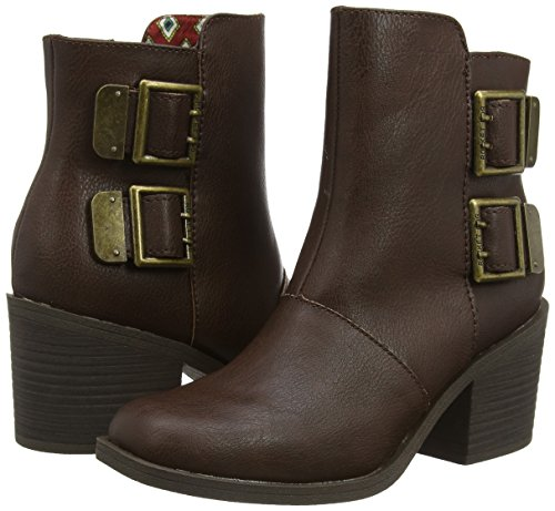 Rocket Boots Dundee Brown Dog Damen Biker Braun 1x1Srq
