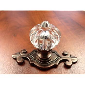 Sonoma Cabinet Hardware Roman Knob Venetian Bronze with fleur-de ...
