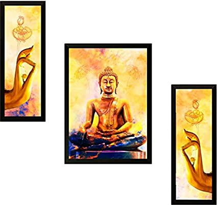 PAF Buddha Painting exclusive Framed Wall Art Paintings Framed size ...