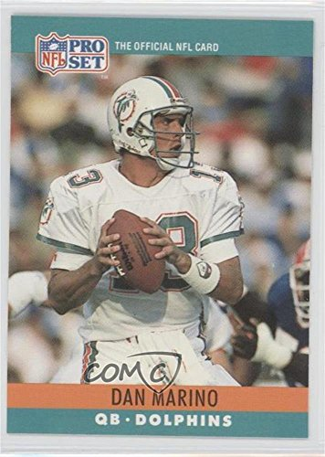 Dan Marino; Billy Ray Smith (Football Card) 1990 Pro Set - Printing Proof Errors #DMBS