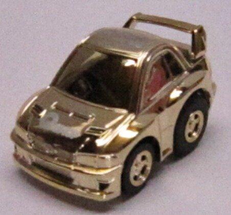 チョロQ スバル インプレッサ 2001 スペシャル仕様(ゴールドメッキ) Qショップ限定 7A68ND
