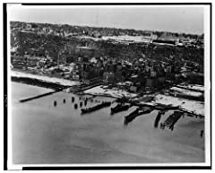 8x12 inch Photographic Print from a high-quality scan of the original.Photo: Aerial View,Edgewater,New Jersey,NJ,Hudson River,Amusement Park,Cliff,March 1961Note: Some images may have white bars on the sides or top if the original image does ...
