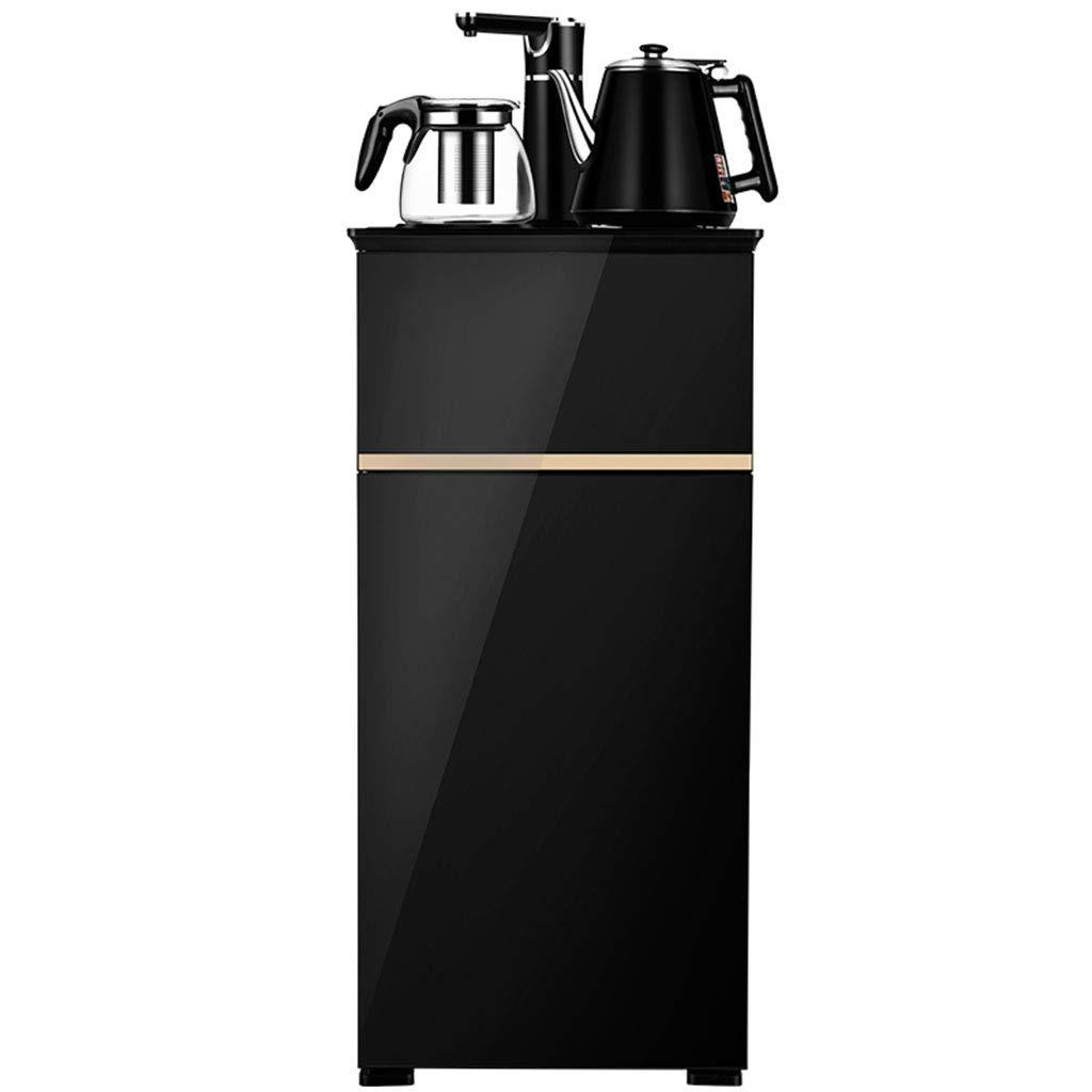 Hot Water Dispensers Household Vertical hot Water Dispenser Bedroom hot and Cold Smart hot Water Dispenser Energy-Saving New Eye-catching Water Dispenser (Color : Black, Size : 33cm32cm94cm)