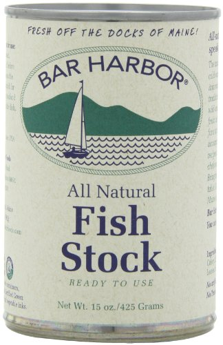 Bar Harbor Stock, Fish, 15 Ounce (Pack of 6) (PACKAGING MAY VARY)