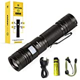 Everbeam E2 LED Tactical Flashlight 950 Lumen Ultra Bright, Waterproof, Zoomable, Long Distance