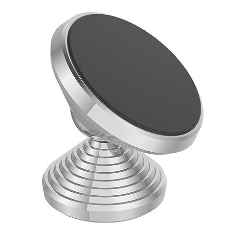 Awhao - Soporte para teléfono móvil, forma de mancuerna, rotación de 360 grados,