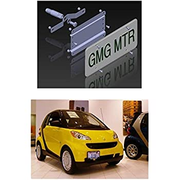 Amazon Com Gmg Motorsports Smart Car No Holes License Plate Bracket