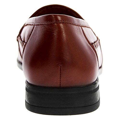 Mocassino Slip On In Pelle Cognac Uomo Nunn Bush