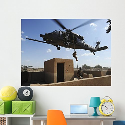 Us Air Force Pararescuemen Wall Mural by Wallmonkeys Peel and Stick Graphic (60 in W x 45 in H) WM207504
