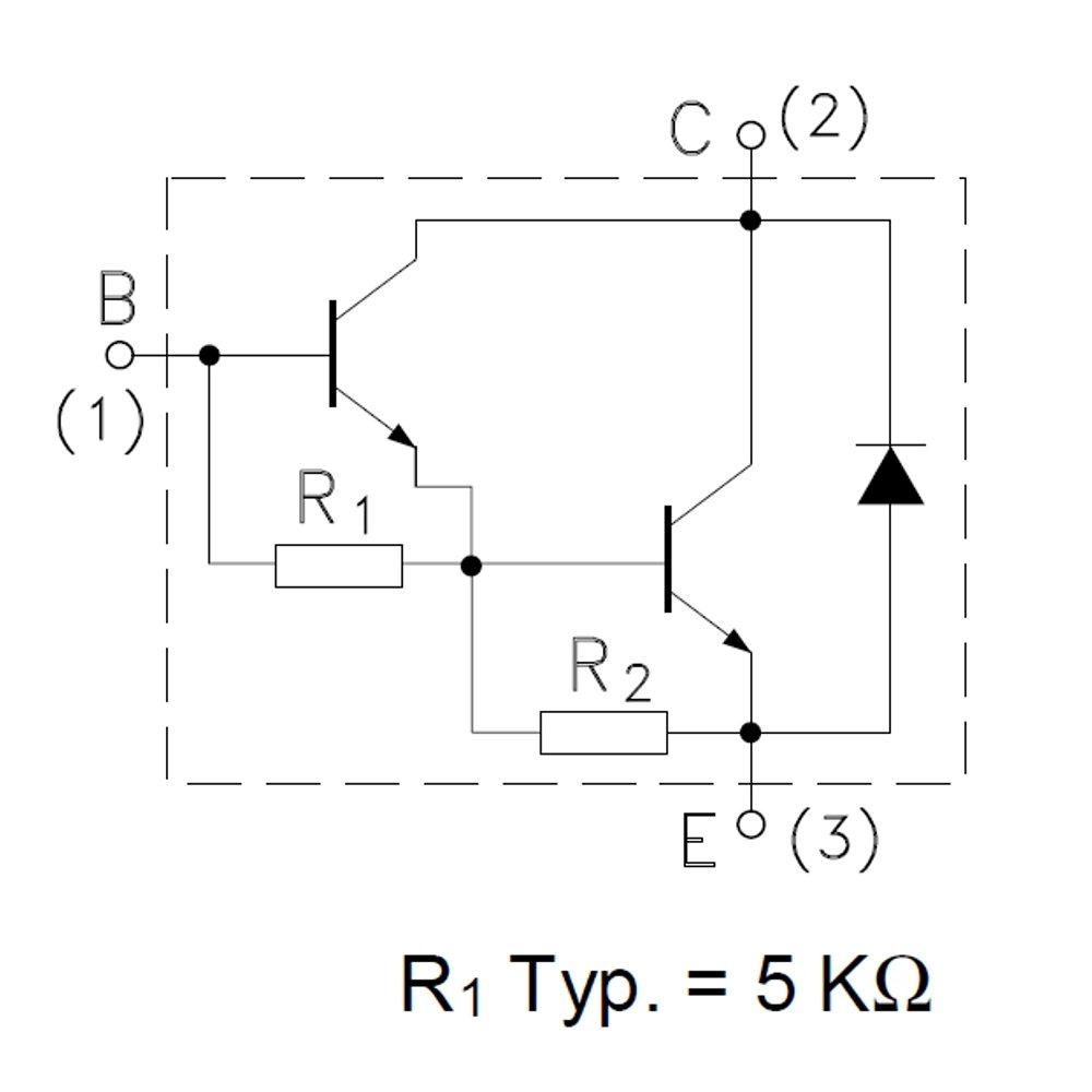10 Stck Tip142 Npn Darlington Transistors 100v Elektronik Transistor Configuration