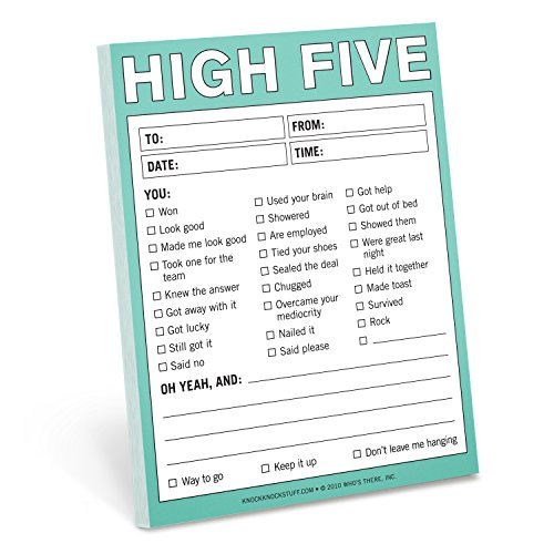 Knock High Five Nifty Note product image