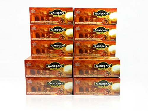 10 BOXES Gano Excel Cafe Mocha Instant Coffee FREE 10 SACHETS by NewtonStore Plus FREE EXPEDITED SHIPPING 2-3 DAYS by Gano Cafe Excel