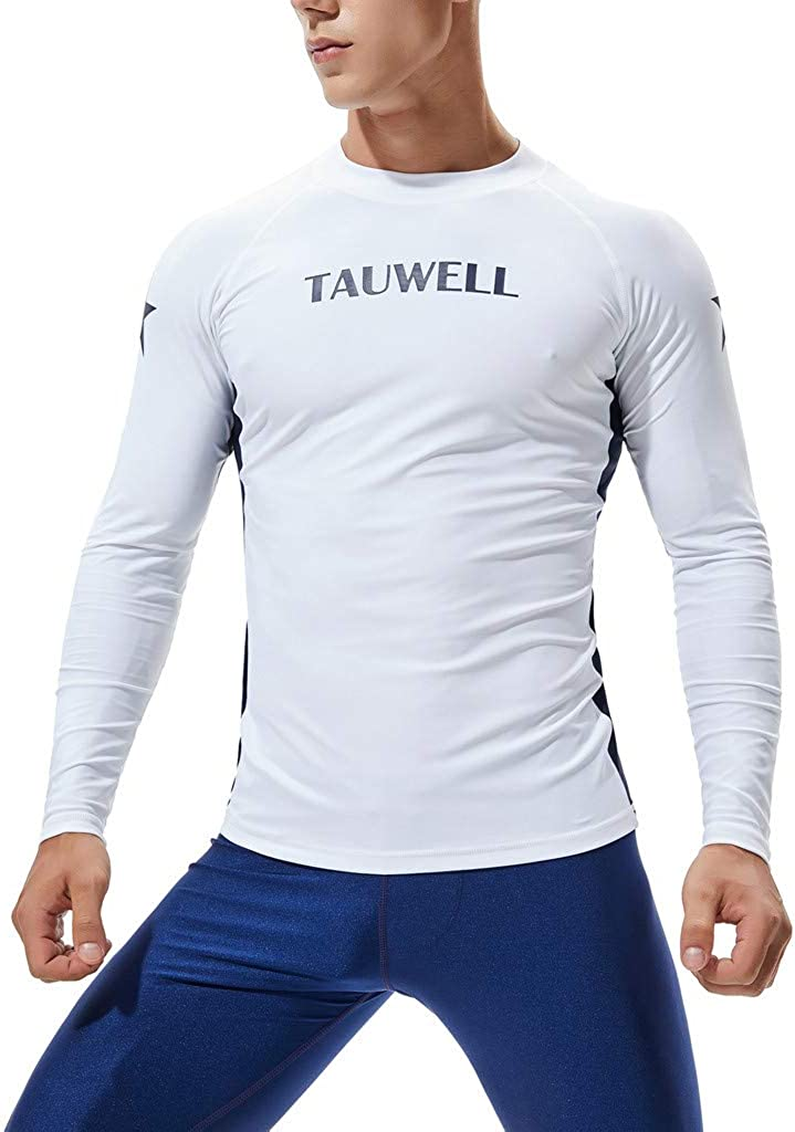 Traje de Neopreno Hombre, Camiseta Manga Larga de la natación Hombre Surf Buceo Rash Guard UV Pieles de protección Solar Surfing Diving Swiming T Shirt Traje de Manga Larga para Hombre Ropa