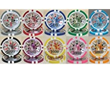 50 BEN Franklin Laser 14gm Poker Chips - Choose