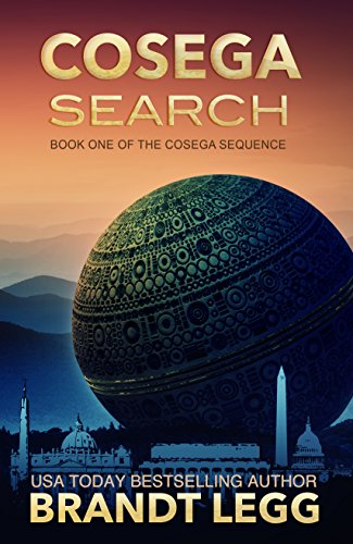 "Think ""X-Files meets Da Vinci Code on the way to Tom Clancy's House""…Brandt Legg's bestselling novel is free today: Cosega Search (The Cosega Sequence Book 1)"