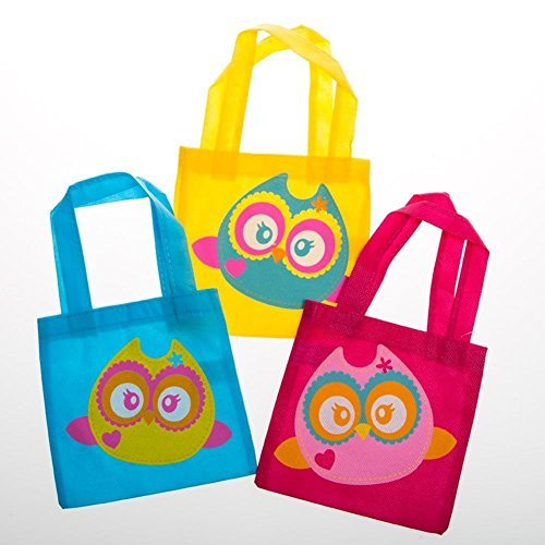Cute Polyester Party Tote Yellow product image