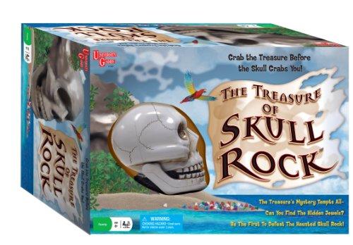 Treasure Skull Adventure Board Games