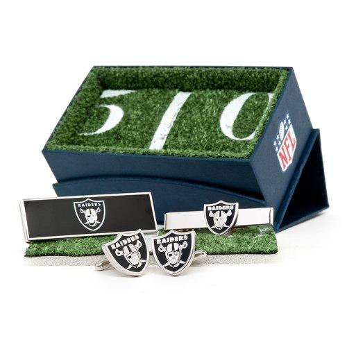 Oakland Athletics Cufflinks (Oakland Raiders Cufflinks, Moneyclip & Tie Bar Gift Set)