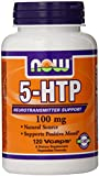 NOW Foods by Now: 5-HTP NEUROTRANSMITTER SUPPORT 100 MG-120 VCAPS