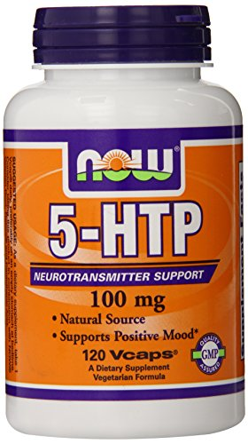 NOW Foods 5-HTP 100 mg, 120 VCAPS