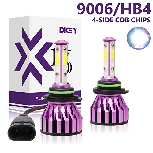 6000k led headlight bulb 9006 - 9