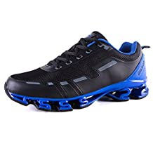 Men's Sneakers Comfortable Platform Walking Lightweight Casual Fitness Shoes Shock Absorption