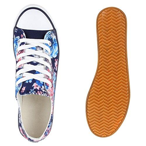 Stiefelparadies - Zapatillas de casa Mujer Azul