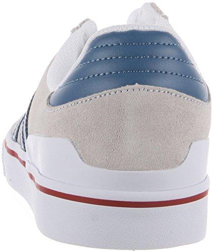 best cheap 08eab 89e06 hot sale Adidas Busenitz Vulc White   Ash Blue   University Red Skate Shoes