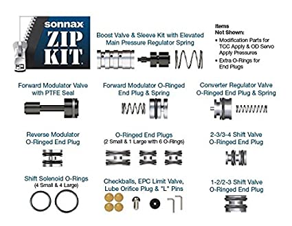 Amazon com: Sonnax 4R44E5R55EZIP Zip Kit 4R44E 5R55E 4R55E