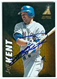 Autograph Warehouse 246686 Jeff Kent Autographed Baseball Card - New York Mets 1994 Pinnacle Zenith - No. 49