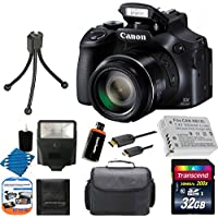 Canon PowerShot SX60 HS Digital Camera Basic Intro Review Image