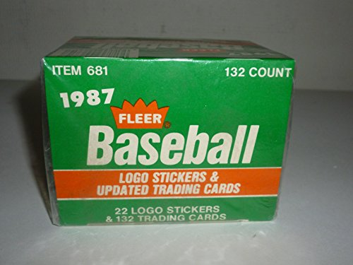 1987 Fleer Update Set Baseball Card (132 Cards + -