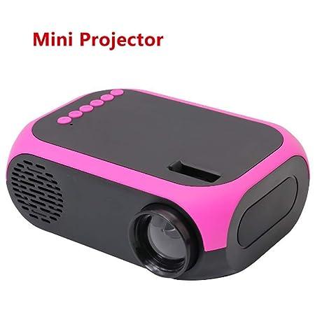 siberiantiger Mini Proyector Luz LED,Proyector Audiovisual ...