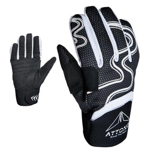 Skihandschuhe von ATTONO® Ski Handschuhe Herren Damen Kinder Größen: 4-12