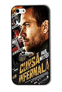 Tomhousomick Custom Design Fast and Furious 7 Forever Jason Statham and Vin Diesel and Paul Walker Case Cover for iPhone 6 4.7 2015 Hot New Style