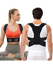 Corrector de Postura Espalda y Hombros Para Hombre y Mujer, Faja para Dolor de Espalda, Enderezador de Espalda Transpirable, Cinturón de Cintura Doble Mejorado
