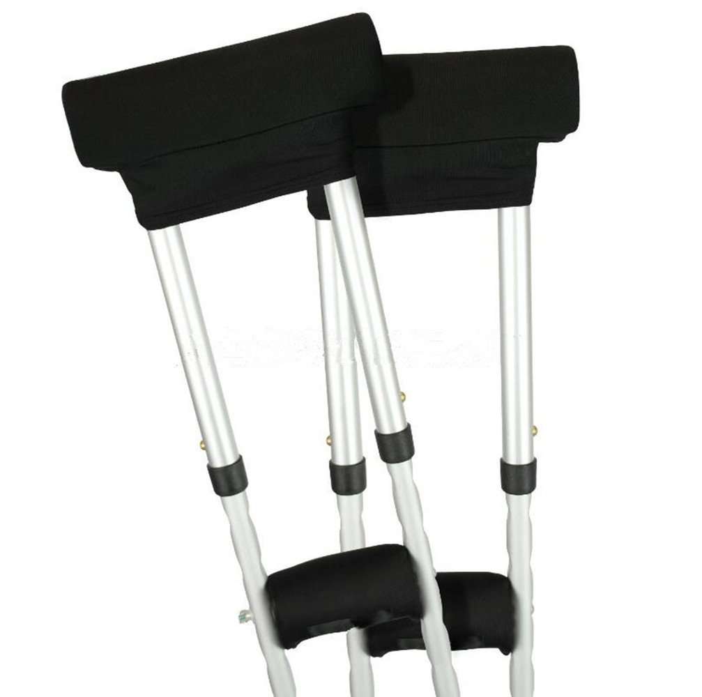 Crutch Pads,SUMDY Universal Crutch Underarm Pad Covers,Padding for Walking Crutches,Underarm & Handle Pillow Covers for Hand & Armpit