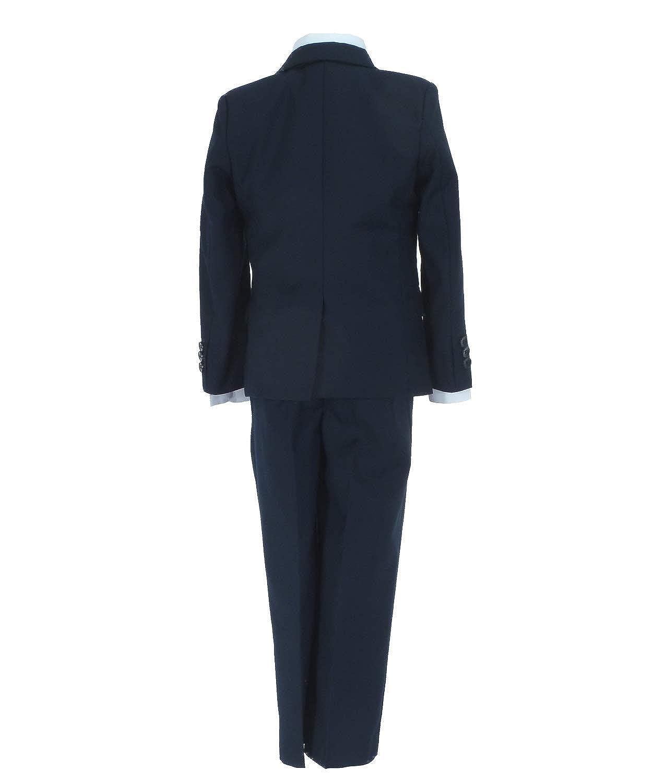 Samtlebe/® Jungen Smoking Anzug FF2017 Blau