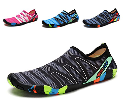 Sooneeya Mens Womens Quick Dry Barefoot Skin Shoes Lightweight Breathable Aqua Sport Water Shoes for Sea Beach Pool Yoga (Arch Youth Diving Womens)