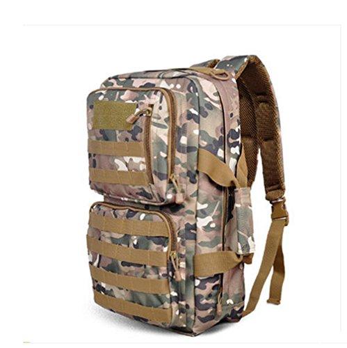 BUSL bolso de hombro al aire libre del alpinismo de los hombres y las mujeres bolsa de bolsas de deporte bolsa grande de capacidad de montar a prueba de agua . d a