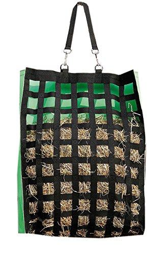 Heusack Heutasche Heunetz | Futtertasche | Futtersack | Heubeutel mit vielen Freßöffnungen, starke Ausführung groß